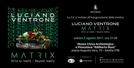 "Luciano Ventrone, ""MATRIX. Oltre la realtà-Beyond reality"""